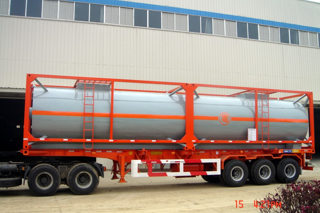 """40"""" ISO Tanker Container"""