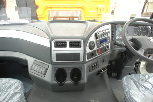 Right hand drive PW10BY medium truck cab Shacman